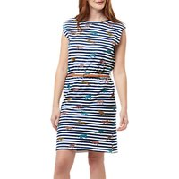 Sugarhill Boutique Hetty Leopard Stripe Dress, Multi