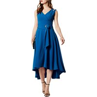 Karen Millen Belted Dress, Blue