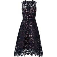 L.K.Bennett Marie Sleeveless Lace Dress, Sloane Blue
