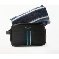 Ted Baker Webbing Wash Bag and Towel Set