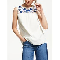 Boden Portia Embroidered Top