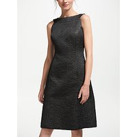 Bruce by Bruce Oldfield Jacquard Fit And Flare Dress, Black