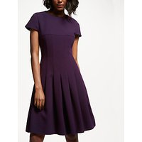 Bruce by Bruce Oldfield Crepe Pleated Dress, Wine Tasting