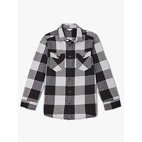 John Lewis & Partners Boys' Buffalo Check Shirt