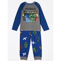 LEGO Ninjago Boys' Pyjamas, Blue/Grey