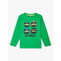 LEGO Children's Ninjago Long Sleeve T-Shirt, Green
