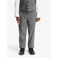 John Lewis and Partners Heirloom Collection Boys Suit Trousers, Grey