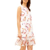 Fenn Wright Manson Paradise Dress, Orange/Multi