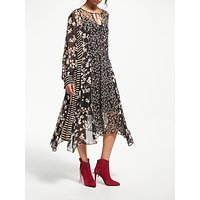 And/or Lily Patchwork Midi Dress, Multi