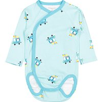 Polarn O. Pyret Baby Ice Cream Bodysuit, Blue