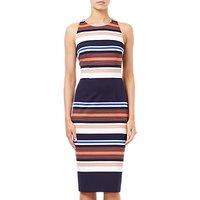 Adrianna Papell Knit Sheath Dress, Coral Multi
