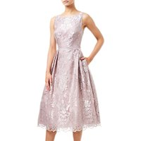 Adrianna Papell Embroidered Tea Dress, Lily Rose