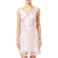 Adrianna Papell A-line Short Dress, Pink