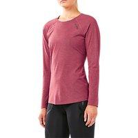 2xu Heat Long Sleeve Running Top, Virtual Pink