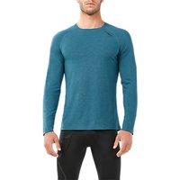 2xu Xvent Heat Long Sleeve T-shirt, Blue Turquoise