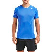 2xu Xvent Training T-shirt, Blue Ocean