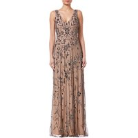 Adrianna Papell Maxi Beaded Dress, Lead