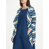 Seasalt Fulmar Striped Waterfall Cardigan, Sllopline Night