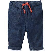 Mini Boden Baby Pull On Denim Trousers