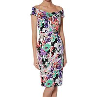 Gina Bacconi Maxine Off The Shoulder Dress, Multi