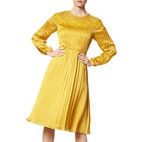 L.K.Bennett Isabel Silk Dress, Citrine