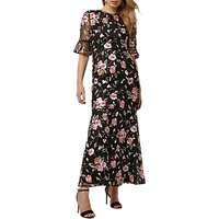 Phase Eight Collection 8 Antonette Floral Dress, Black