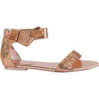 Ted Baker Affii Ankle Strap Sandals, Rose Gold