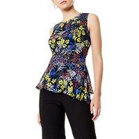 Karen Millen Sporty Floral Top, Multi