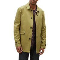 Jaeger Compact Cotton Twill Everyday Mac, Dark Green