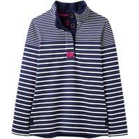 Joules Saunton Sweatshirt, French Navy Stripe