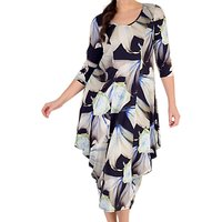 Chesca Printed Jersey Dress, Multi