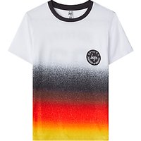 Hype Boys Germany Short Sleeve T-Shirt, White/Red