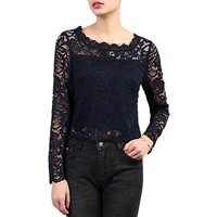 Jolie Moi Scalloped Lace Top