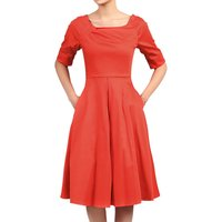 Jolie Moi Retro Swing Dress