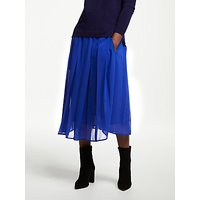 John Lewis & Partners Box Pleat Pull On Skirt