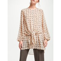 Modern Rarity Archive Tie Front Tunic Top, Pink