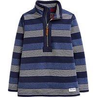 Little Joule Boys' Dale Half Zip Sweatshirt, Blue