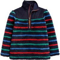 Little Joule Boys' Woozle Half Zip Sweatshirt, Navy