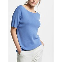 Weekend MaxMara Short Sleeve Jumper, Light Blue