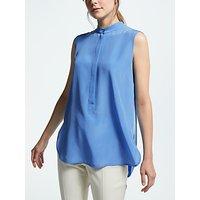 Weekend MaxMara Sleeveless Silk Top, Light Blue