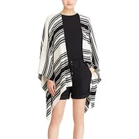 Lauren Ralph Lauren Maegan Cardigan, Polo Black/Mascarpone Cream