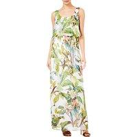 Adrianna Papell Tahitin Tropical Maxi Dress, Ivory/Multi