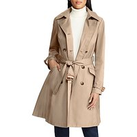 Lauren Ralph Lauren Double Breasted Trench Coat, Sand