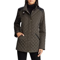 Lauren Ralph Lauren Yoke Quilted Coat