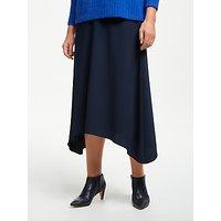 John Lewis & Partners Asymmetric Fluid Skirt