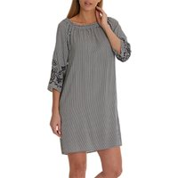 Betty Barclay Striped Dress, Dark Blue/Cream