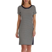Betty Barclay Striped Jersey Dress, Blue/Cream