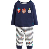 Baby Joule Byron Animal Two Piece T-shirt And Leggings Set, Navy