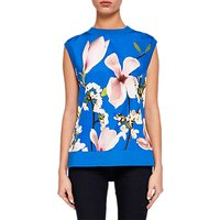 Ted Baker Montayi Harmony Sleeveless Knit, Bright Blue