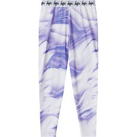 Hype Girls' Print Leggings, Purple